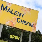 Maleny Cheese - Wedge Sign