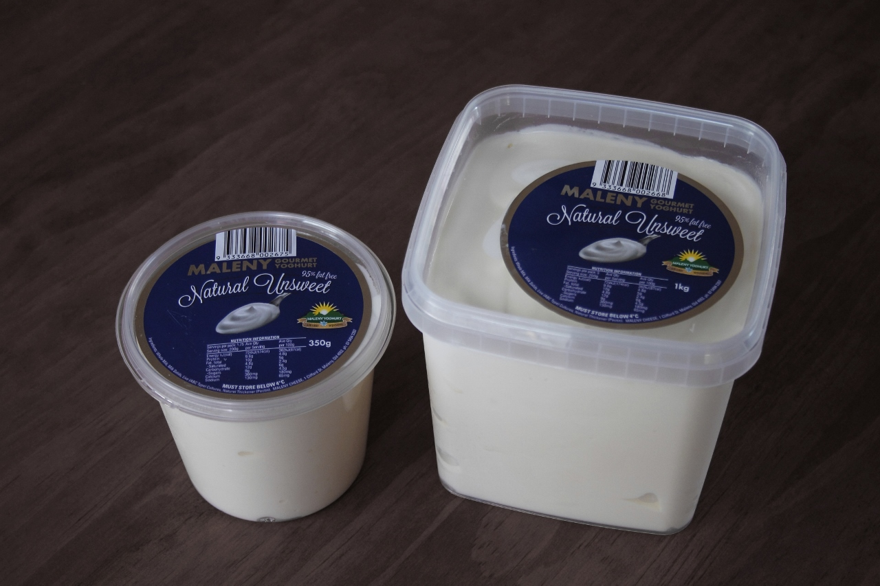 Maleny Gourmet Yoghurt - Natural Unsweet
