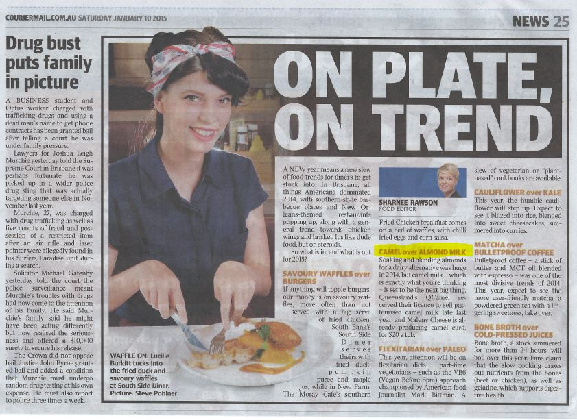 Maleny Cheese - Courier Mail Article
