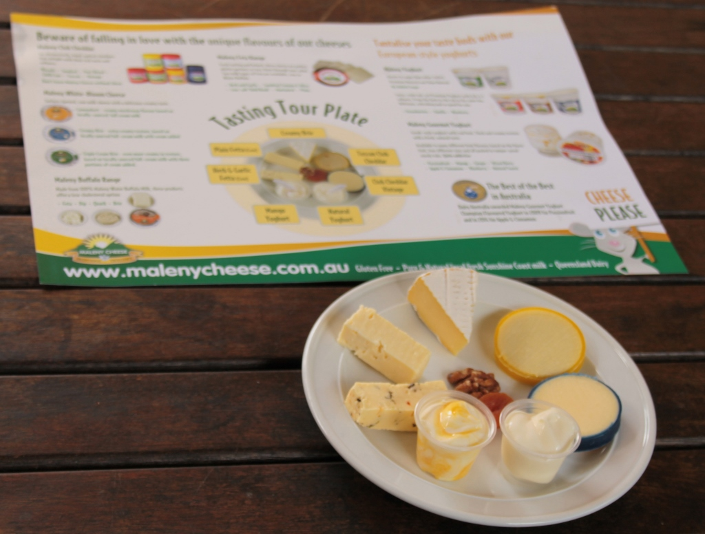 Maleny Cheese - Individual Tasting Tour Plate